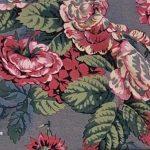 Grey Floral Print