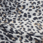 Leopard winter fleece