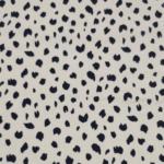 Cream Leopard Cotton Viscose