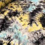 Galaxy Blue And Yellow Tie Dye