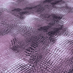 Purple Snake Skin Viscose